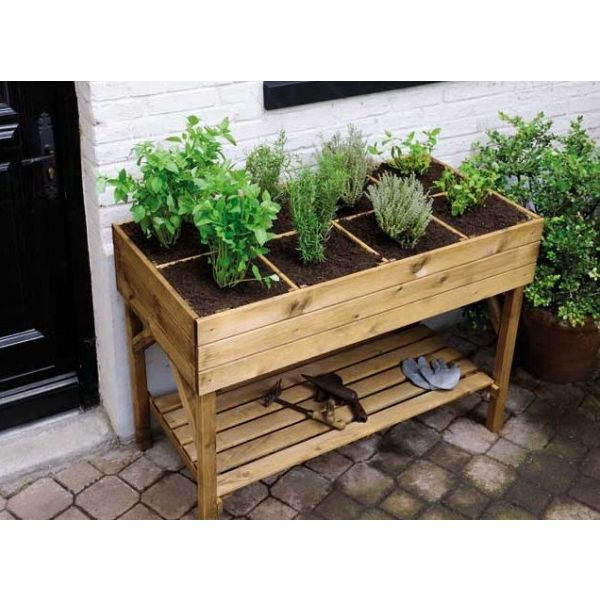 les bacs potagers faciles et pratiques. Black Bedroom Furniture Sets. Home Design Ideas