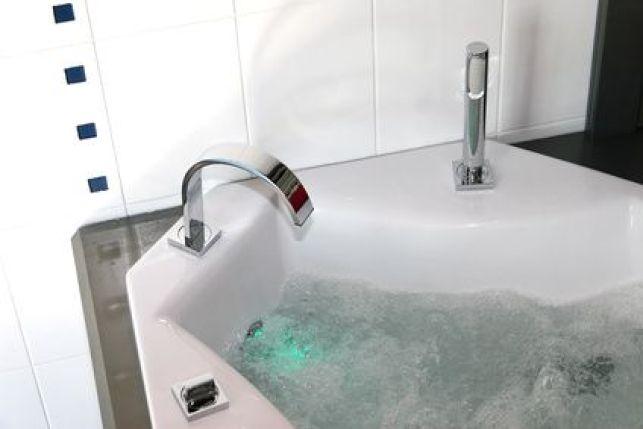 Les baignoires à remous