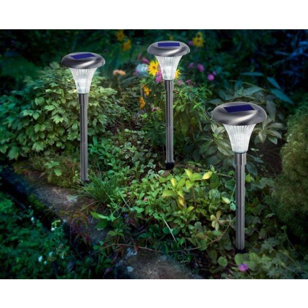 Les balises solaires pour jardin - Balise de jardin solaire ...