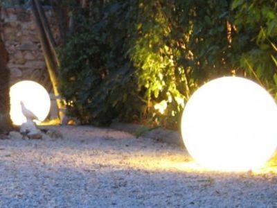 Les boules lumineuses décoratives