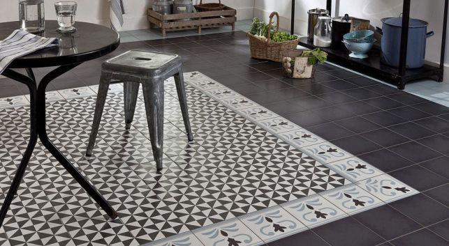 Les carreaux de ciment à motifs