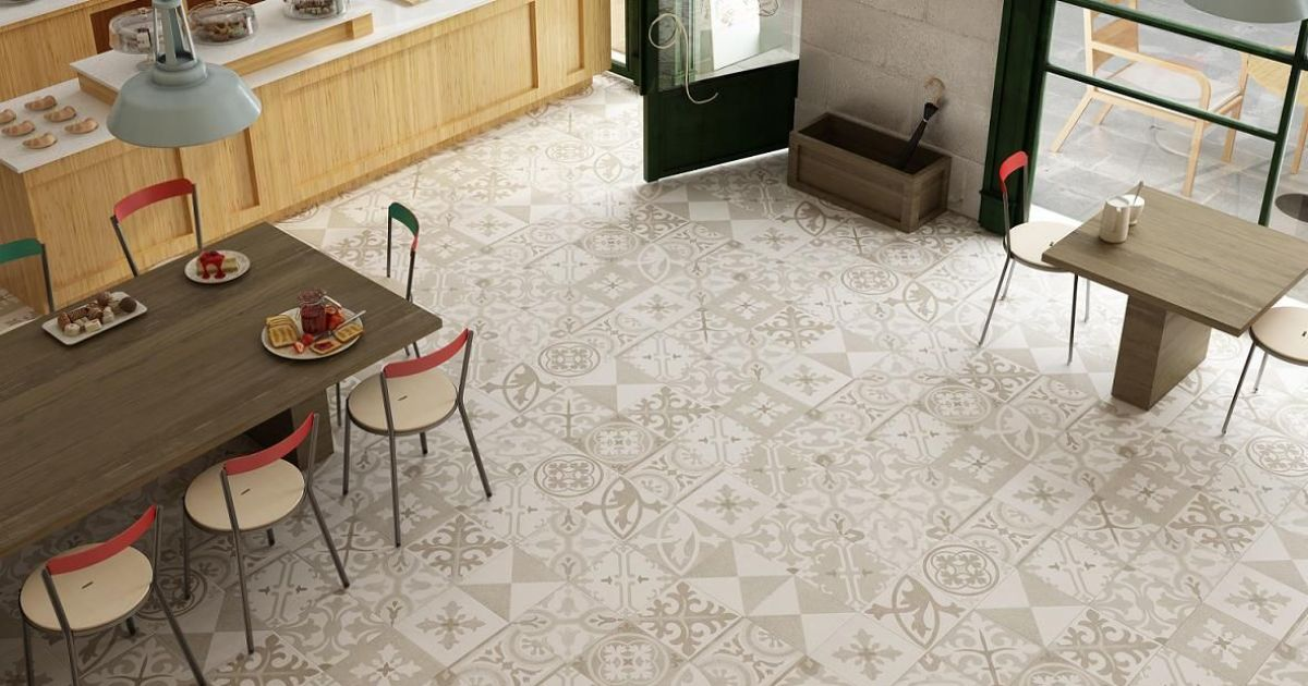 Les carrelages motifs d co peps au sol for Carrelage a motif cuisine