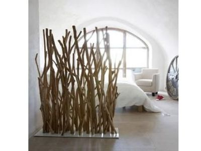 Les cloisons en bois flotté