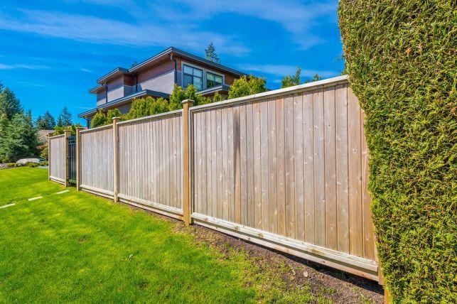 Les clôtures en bois