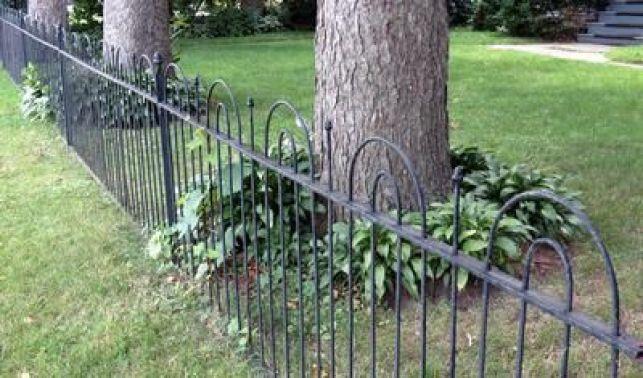 Les clôtures en fer forgé