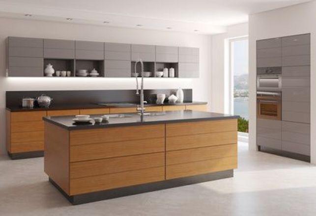 Les cuisines en bois contemporain