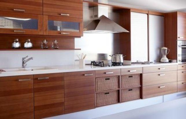 Les cuisines en bois traditionnel