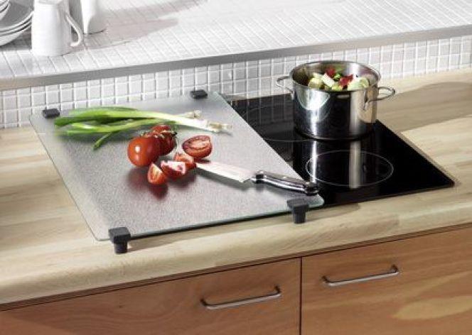 Un domino de cuisson à induction avec 2 foyers