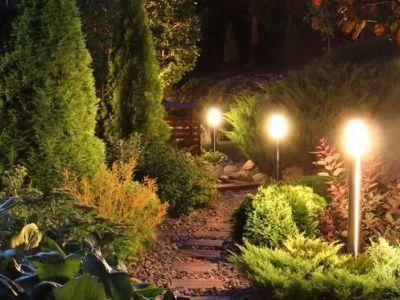 Les éclairages de jardin