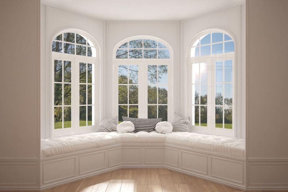 Linteau En Arc De Cercle les fenêtres en arc (bow-window)