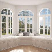 Les fenêtres en arc (bow-window)