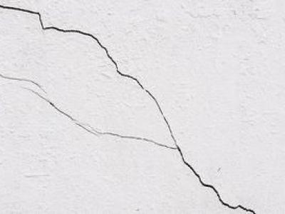 Les fissures sur mur extérieur