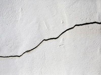 Les fissures sur mur intérieur