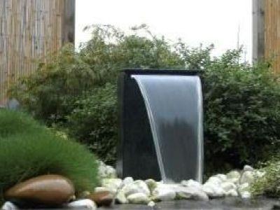 Les fontaines cascades pour jardin