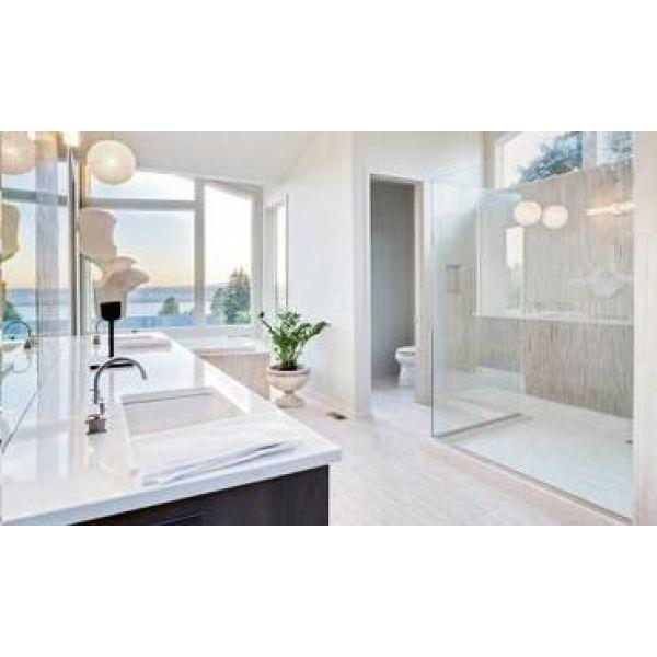 Les formes de receveurs de douches pour salle de bain for Stratifie hydrofuge salle de bain