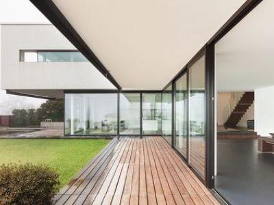 Les maisons à toit plat