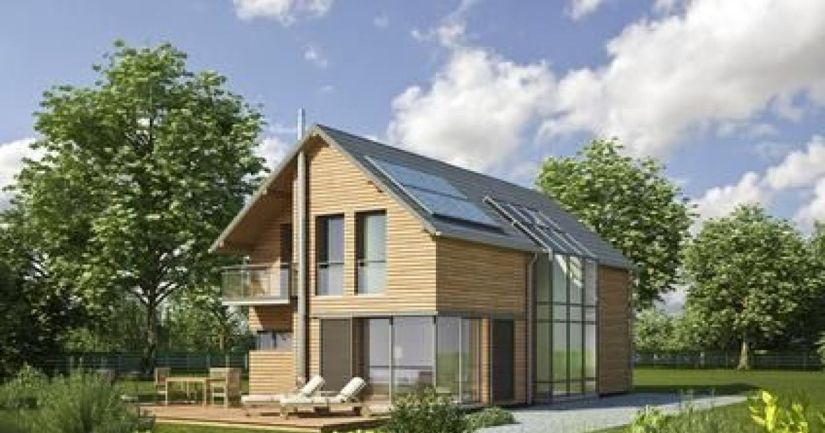 les maisons bioclimatiques maisons de demain ultra conomes. Black Bedroom Furniture Sets. Home Design Ideas