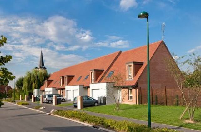Les maisons en lotissement