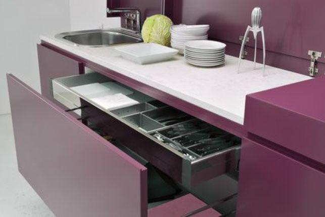 Les meubles de cuisine coulissants