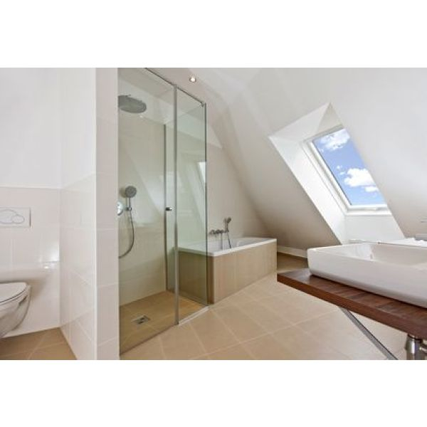 baignoire dans petite salle de bain exquise salle de bain douche decoration petite salle de. Black Bedroom Furniture Sets. Home Design Ideas