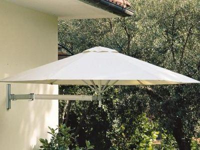 Les parasols muraux qui se fixent au mur