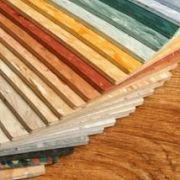Les parquets colorés