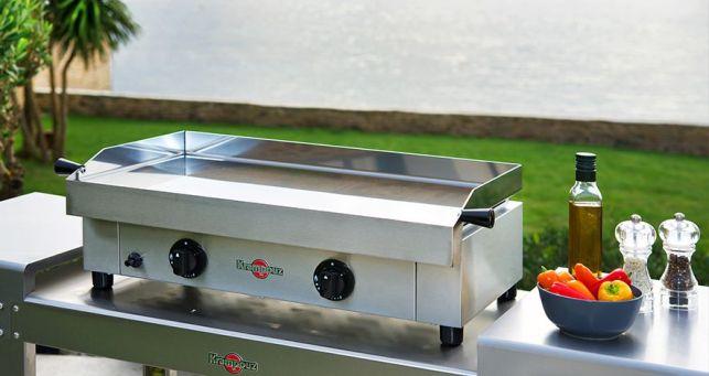 Les planchas Krampouz : des planchas inox de qualité fabriquées en Bretagne