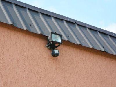 Les projecteurs d'extérieur avec détecteur de mouvement