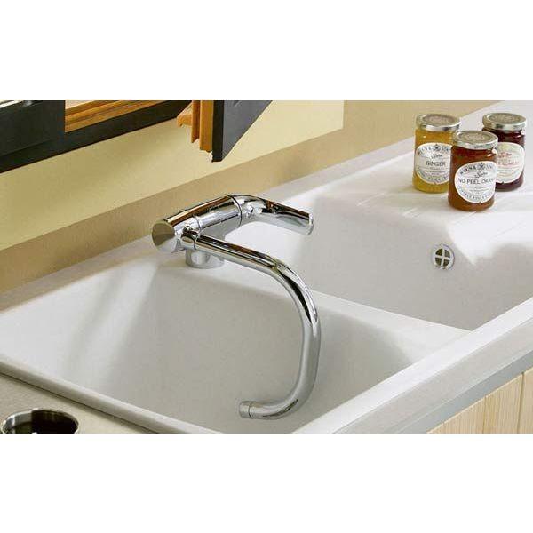 Les robinets rabattables pratiques et esth tiques - Changer robinet cuisine ...