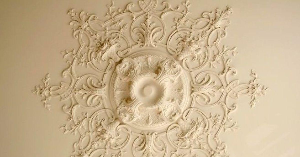 les rosaces de plafond d corer et donner du relief au