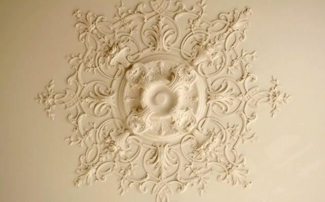 Les Rosaces De Plafond Décorer Et Donner Du Relief Au Plafond