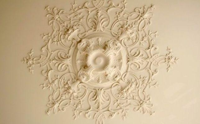 Les rosaces de plafond