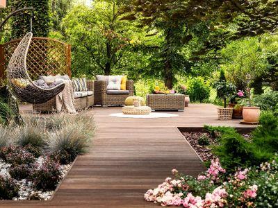 Les terrasses en bois exotique