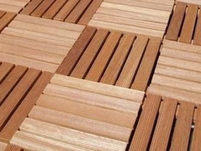 Les terrasses en caillebotis de bois