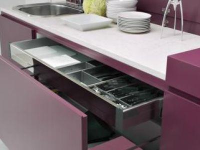 Les tiroirs de cuisine
