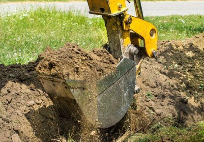 Exceptionnel Les travaux de terrassement, étapes préparatoires à la construction JD18