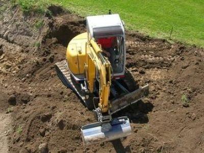 Les travaux de terrassement pour jardin