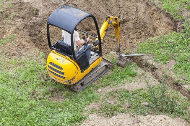 Louer du matériel pour effectuer un terrassement