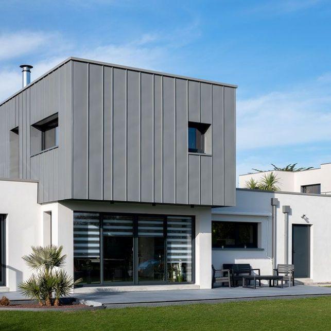 Une maison d'architecte contemporaine en tôle