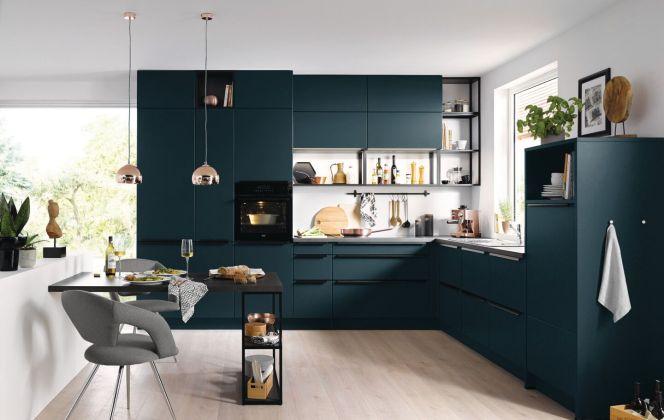 MILANO bleu intense © Cuisines Aviva