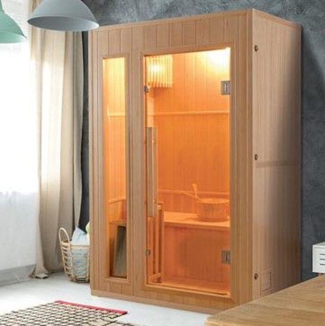 Le mini sauna adapté aux petits espaces