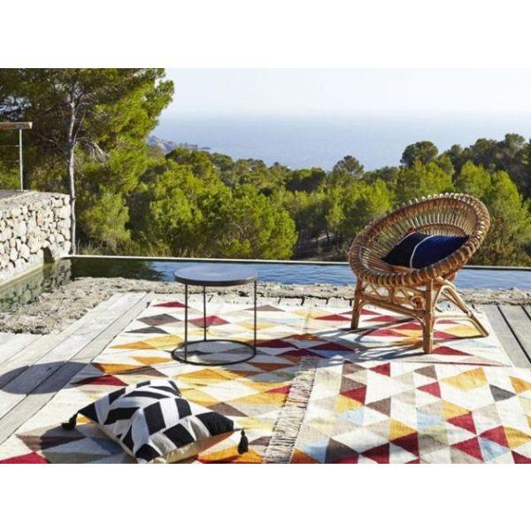 mobilier de jardin en osier par am pm. Black Bedroom Furniture Sets. Home Design Ideas