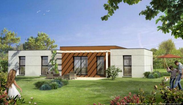 Modèle de maison proposé par Mikit