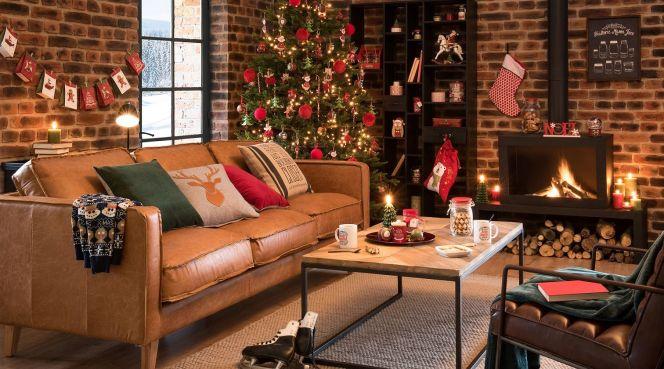 no l les plus belles id es d co pour votre maison no l. Black Bedroom Furniture Sets. Home Design Ideas