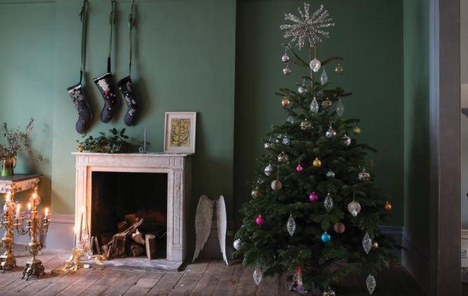 Noël : les plus belles idées déco pour votre maison © Farrow & Ball