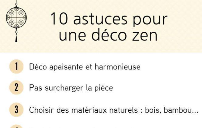 Nos 10 astuces pour créer une déco zen ! © M-Habitat