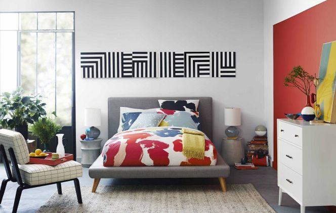 Notre sélection de chambres à coucher haut de gamme © WEST ELM