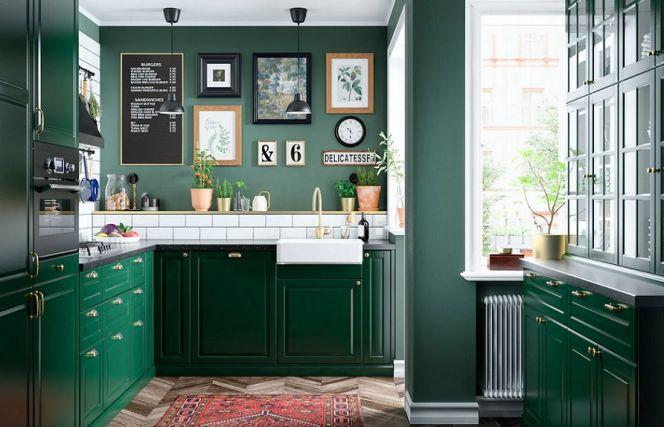 Notre sélection des plus belles cuisines colorées© BODBYN - Ikea