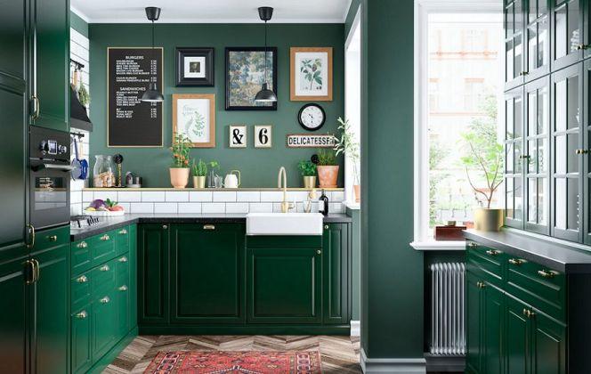 Notre sélection des plus belles cuisines colorées © BODBYN - Ikea
