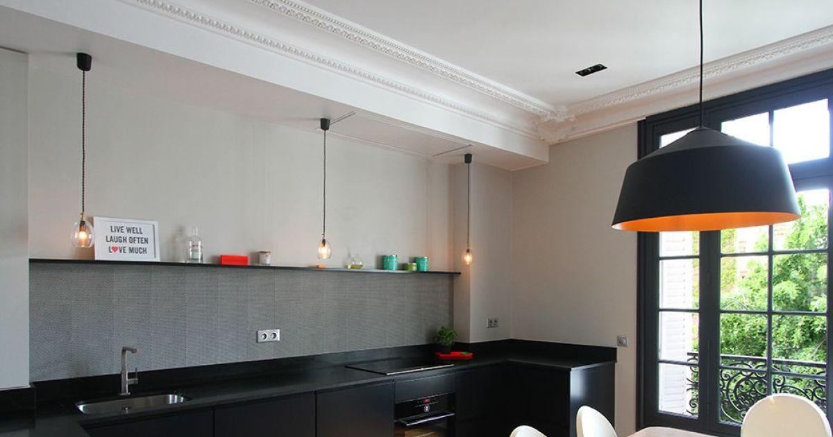 Notre s lection des plus belles cuisines ouvertes for Cuisinella light